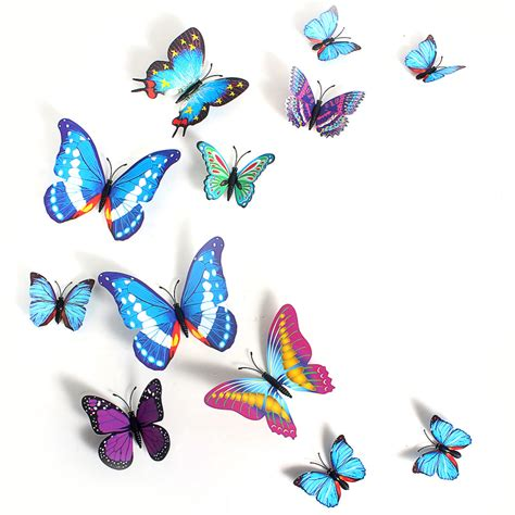 3d butterfly stickers for walls 3d butterfly sticker creative butterflie design decal