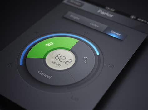 timer for iphone mobile design inspiration timer iphone app
