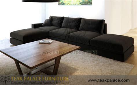 Sofa Bagus L Shape kursi sudut minimalis jati jepara harga murah murah kursi