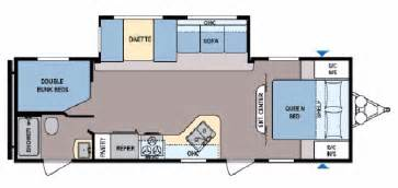 30 Ft Travel Trailer Floor Plans New 2017 Coleman Coleman Cts263bh Travel Trailer For Sale