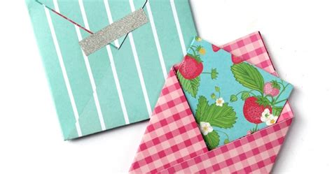 Square Origami Envelope - easy square origami envelopes gathering