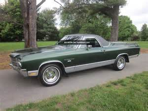 1970 chevrolet el camino car 307 auto last owner 40yrs