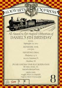 printable harry potter themed invitation by chachkedesigns