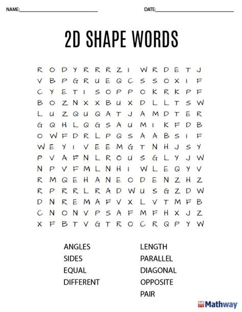 5 Letter Words Related To Math 27 best images about math word search activities on