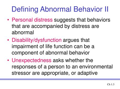 abnormalpsych personality ppt introduction to abnormal psychology powerpoint
