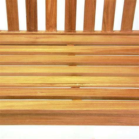 panchine in legno da esterno panchina da esterno e giardino in legno di teak a 2 posti