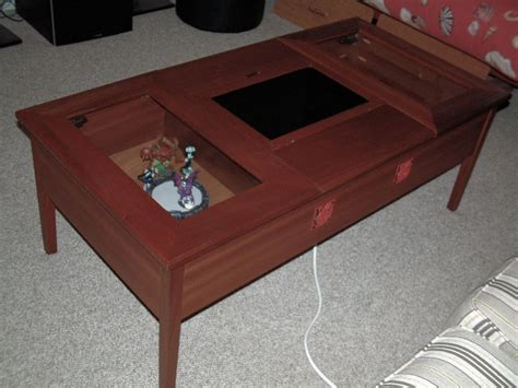 Gaming Coffee Table Handmade Raspi Coffee Table Is Raspberry Pi Powered Retro Gaming Unit Homecrux