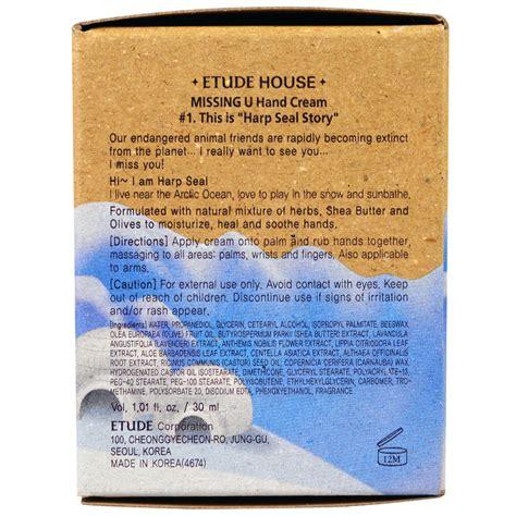 Etude House Missing U etude house missing u 1 harp seal 1 01 fl oz 30 ml iherb