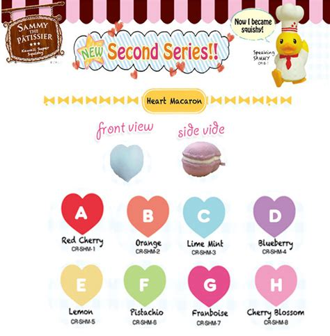 Squishy Licensed Box Shop Blueberry Original sammy the patissier kawaii squishy cell phone