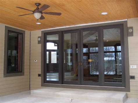appealing exterior sliding door designs  perfect