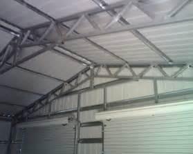 Garage Truss Design Building Pictures Valleyshed