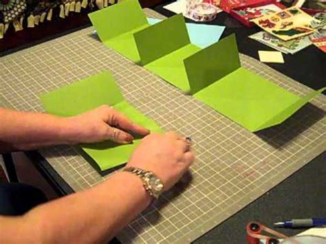 How To Make A Paper Album - cardstock mini album fast to make gift