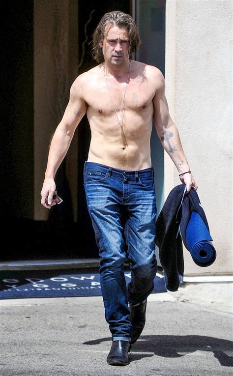 colin farrell hot actor colin farrell tattoos male models picture