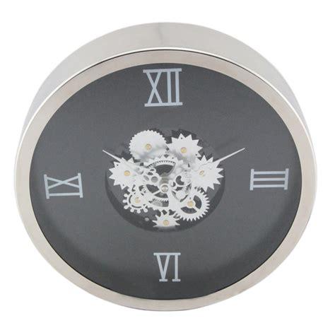 High End Wall Clocks New Fashion Lotus Shape Creative Glass Gear Wall Clock