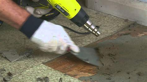 Remove Vinyl Flooring by How To Remove Vinyl Floor Diy At Bunnings