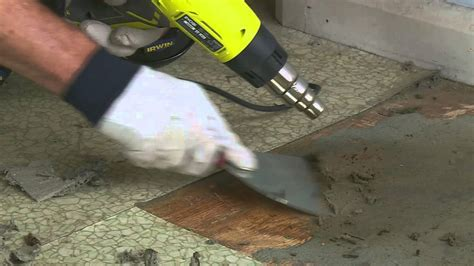 How To Remove Vinyl Floor   DIY At Bunnings   YouTube