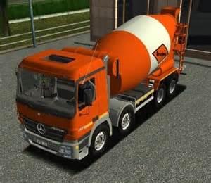 Truck 18 Wheels Tç ºrkç E Yama Indir Mercedes Axor 4141 Mixer â Oyun Modlarä â Bilgisayar