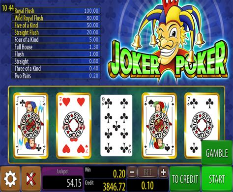 joker poker wazdan freeslot  click  play