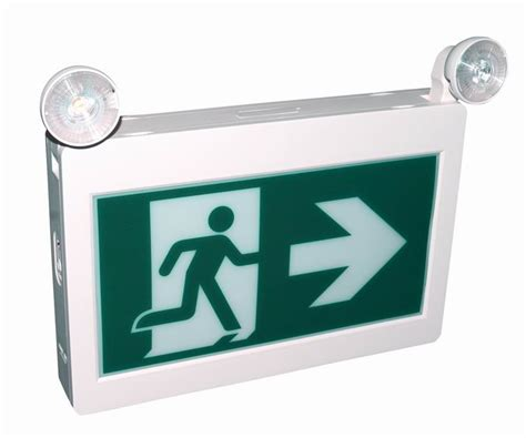 Lu Emergency 2 Side Rechargeable Emergency L Surya Shll6005 cet 100 cul csa led rechargeable emergency running exit sign buy running exit