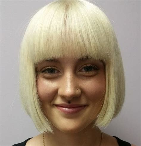 blunt bangs hairstyles blonde images 30 amazing blunt bob hairstyles to rock this summer short