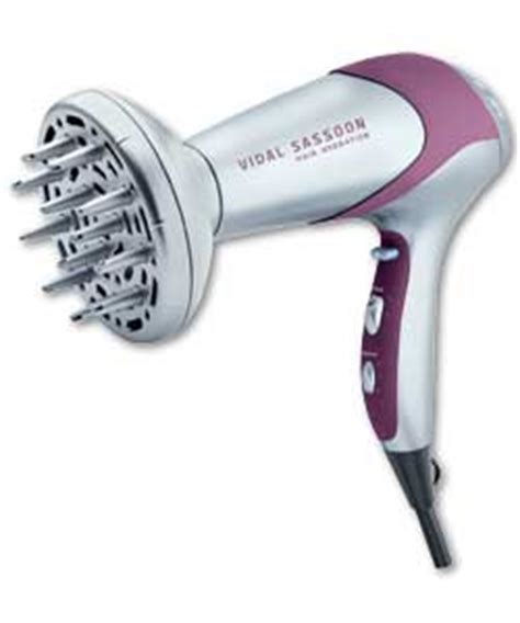 Vidal Sassoon Hair Dryer Diffuser vidal sassoon 2000 watt ionic diffuser dryer hairdryer review compare prices buy