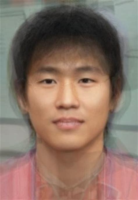 typical filipino male world of facial averages east southeast asia pacific