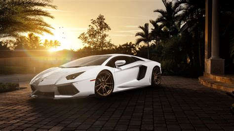 Hd Lamborghini Wallpapers Lamborghini Aventador With Adv1 Rims Hd Wallpapers 4k