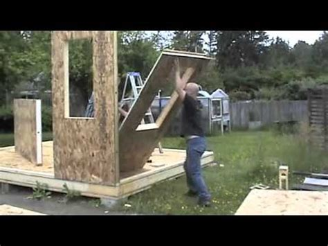 building  shed  sips youtube