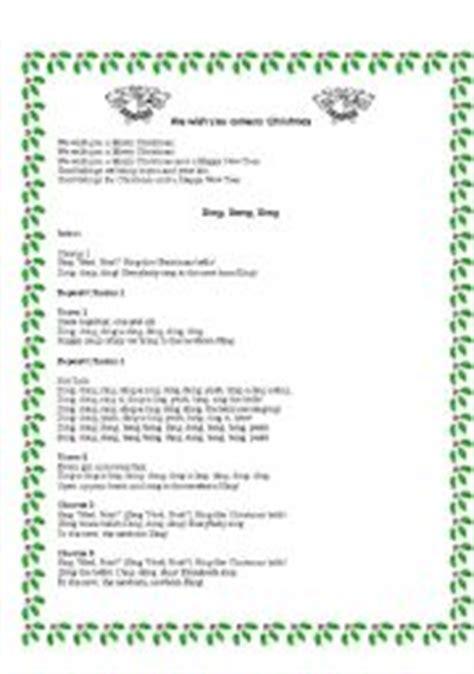 the drummer boy testo worksheets songs lyrics