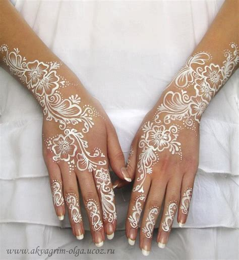 henna tattoo paint olga meleca white bridal henna paint hair and