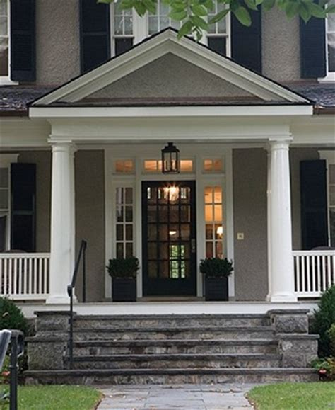 decker traditional front door with sidelights and