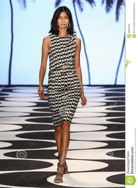 Ny Fashion Week Miller by New York Ny September 05 A Model Walks The Runway At