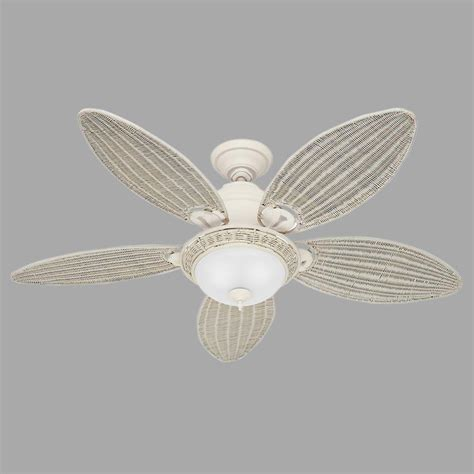 Caribbean Ceiling Fan by Caribbean 54 In Indoor Textured White