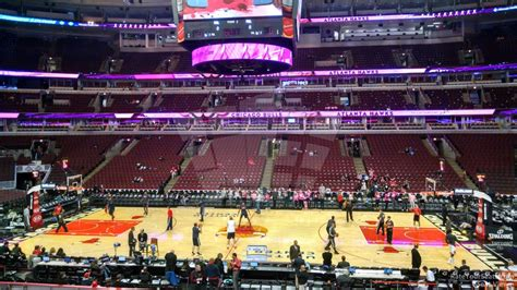 section 122 united center chicago bulls united center section 122 rateyourseats com