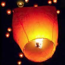 candele cinesi volanti lanterne volanti cinesi