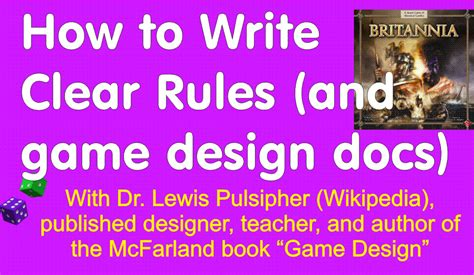 design game rules teach game design reactions to completely free classes
