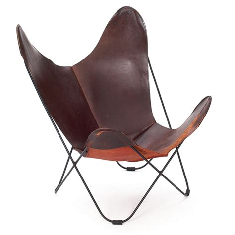 butterfly leather chair treadway toomey galleries