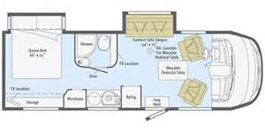 Winnebago Via Floor Plans Era Winnebago Motorhomes Floor Plans Trend Home Design