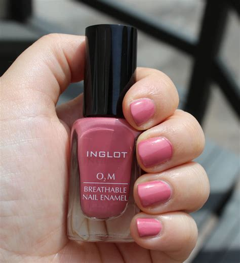 Inglot Halal O2m 681 new inglot o2m breathable nail enamel colors my bunny