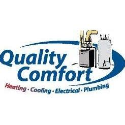 quality comfort air quality comfort plumbing heating cooling in saint