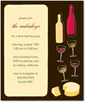Wine Party Invitations Template Resume Builder Wine Invitation Template Free