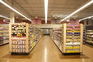 lighting fixture stores grocer finds ge s new led fixture is the answer for