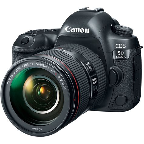 about dslr canon eos 5d iv dslr with 24 105mm f 4l ii