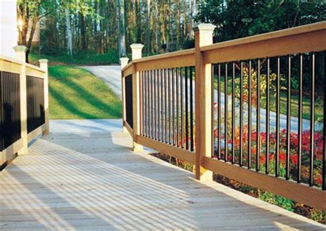 Iron Deck Balusters Decks With Wrought Iron Railings Wrought Iron Deck