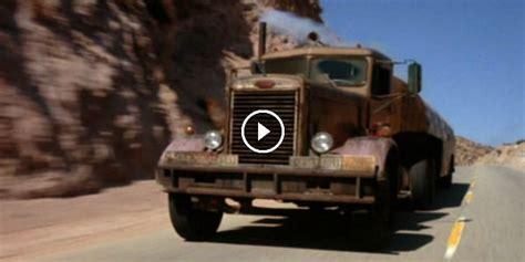 steven spielbergs  truck  car duel