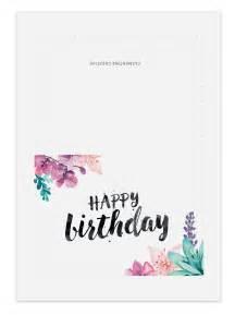 printable birthday card for