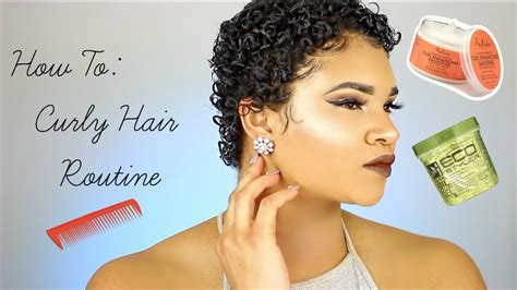 twa with thin hair how to style twa curly hair routine youtube
