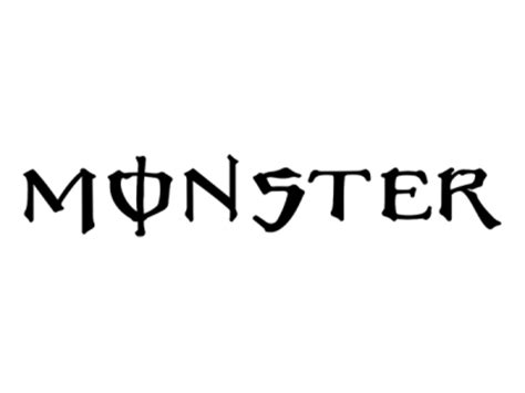 Monsters Logo 1 logo 1 eshop stickers