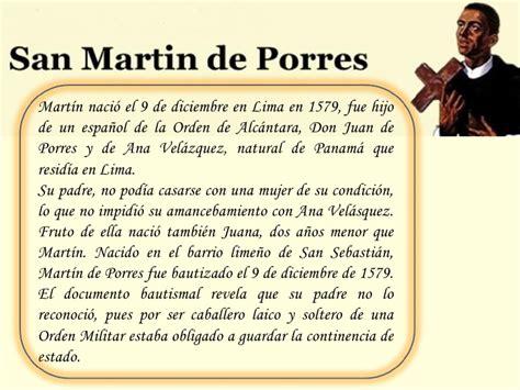 acrostico de san martin de porres imagenes religiosas san mart 237 n de porres