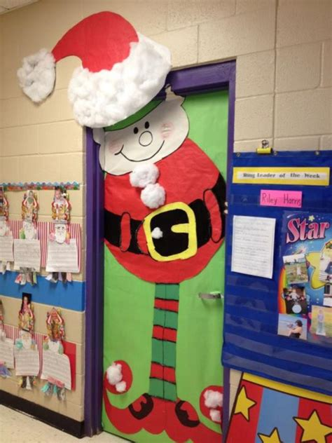 decorating classroom doors for christmas door decorations